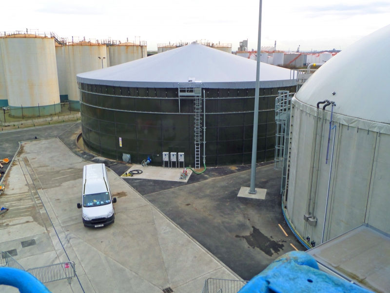 Water Storage Tank Cover