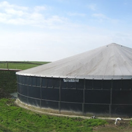 Slurry Store Roof